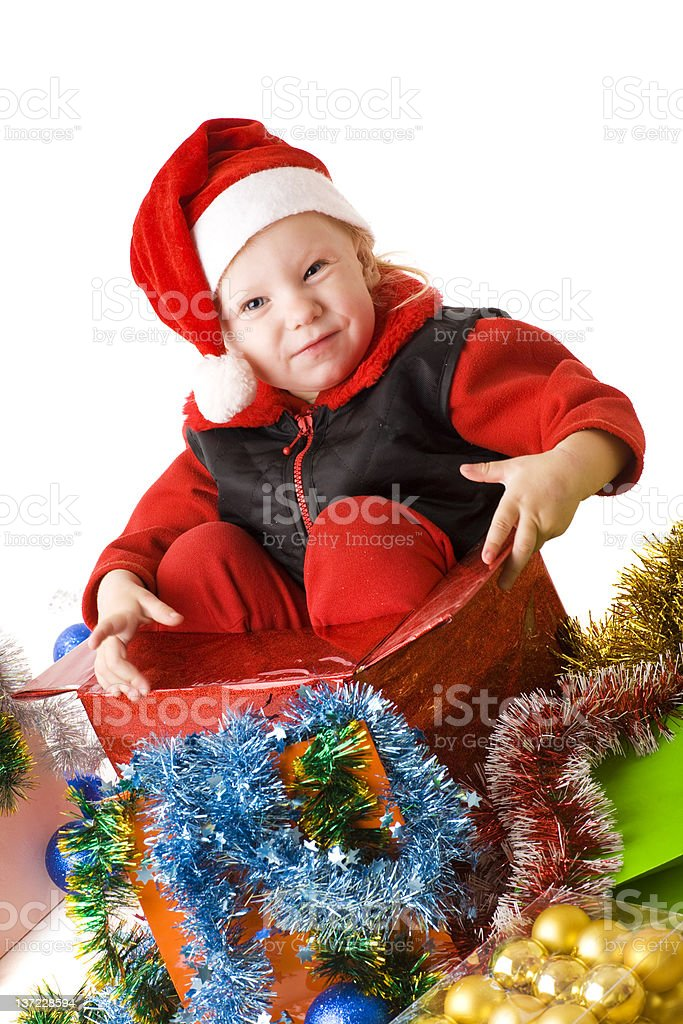 child as a gift royalty-free stock photo
