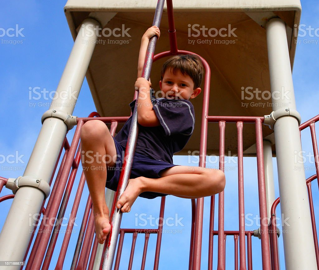 Child at Play royalty-free stock photo