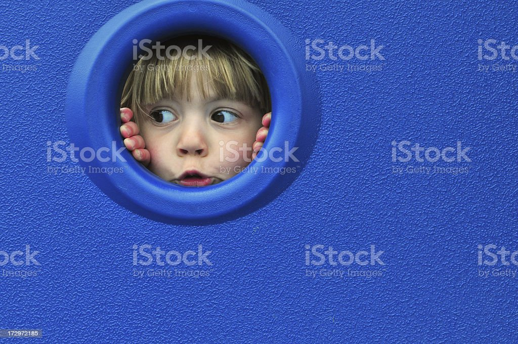 Child at Play stock photo