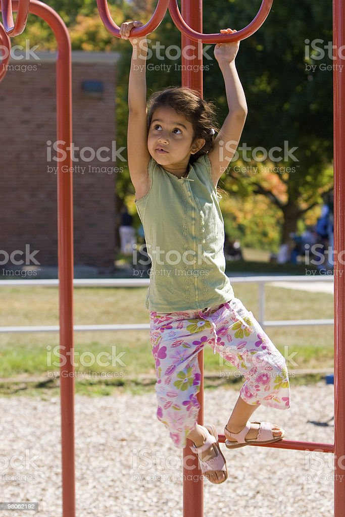 Child At Playground royalty-free stock photo
