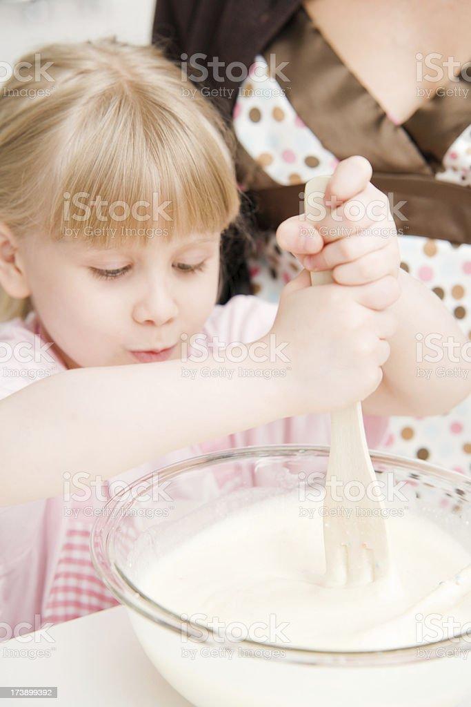 Child Baking royalty-free stock photo