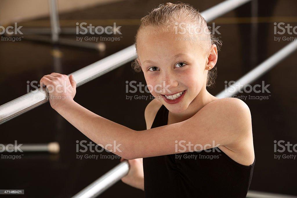 Child Ballerina royalty-free stock photo