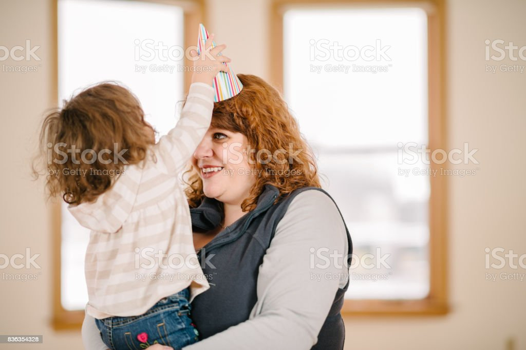 Child Birthday Party stock photo