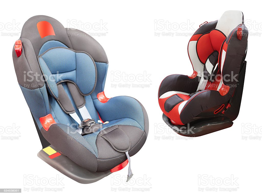 child car chair stock photo