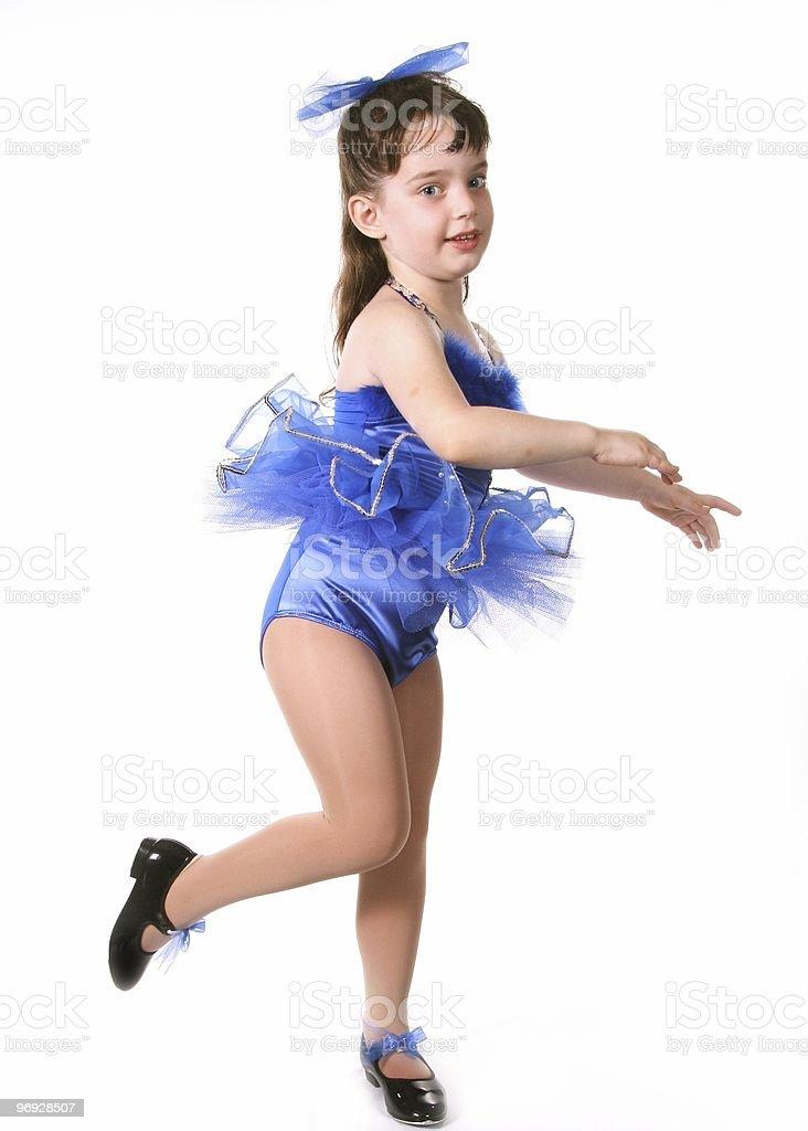 Child Dancer royalty-free stock photo