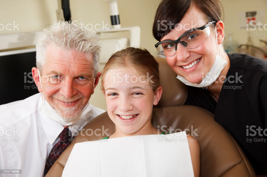 Child Dental Patient royalty-free stock photo