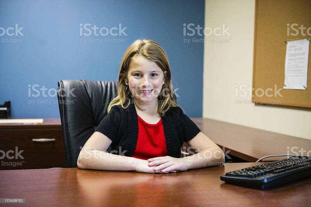 Child Entrepreneur royalty-free stock photo