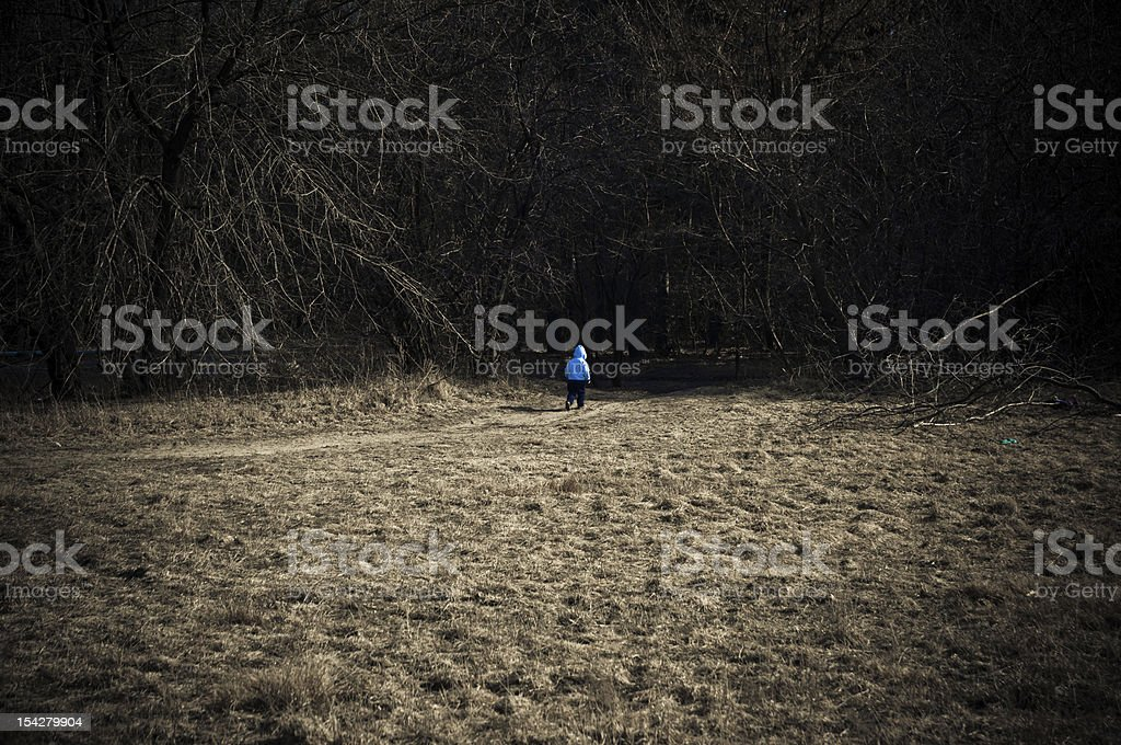 child escape royalty-free stock photo