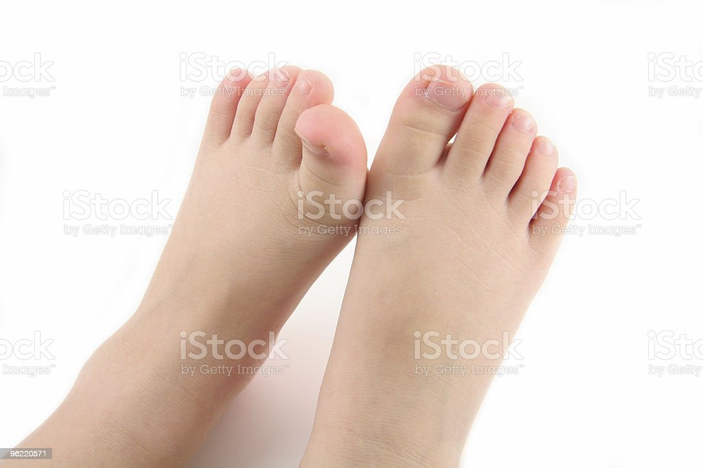 child foot royalty-free stock photo