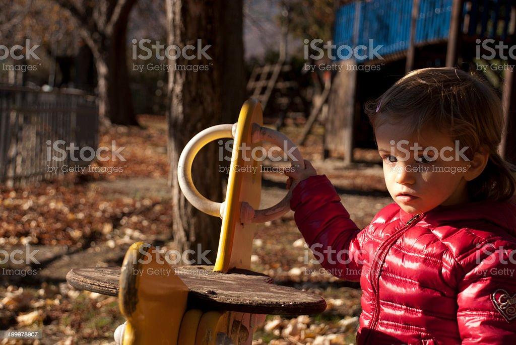 bimba giochi stock photo
