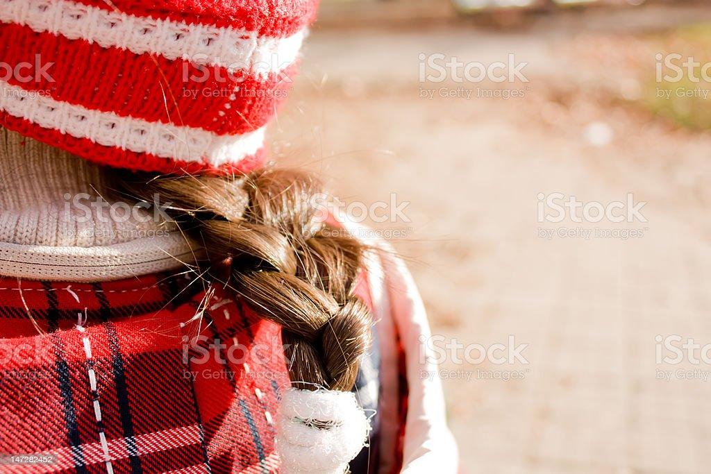 Child hair royalty-free stock photo
