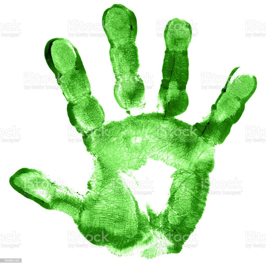 Child Hand Print royalty-free stock photo