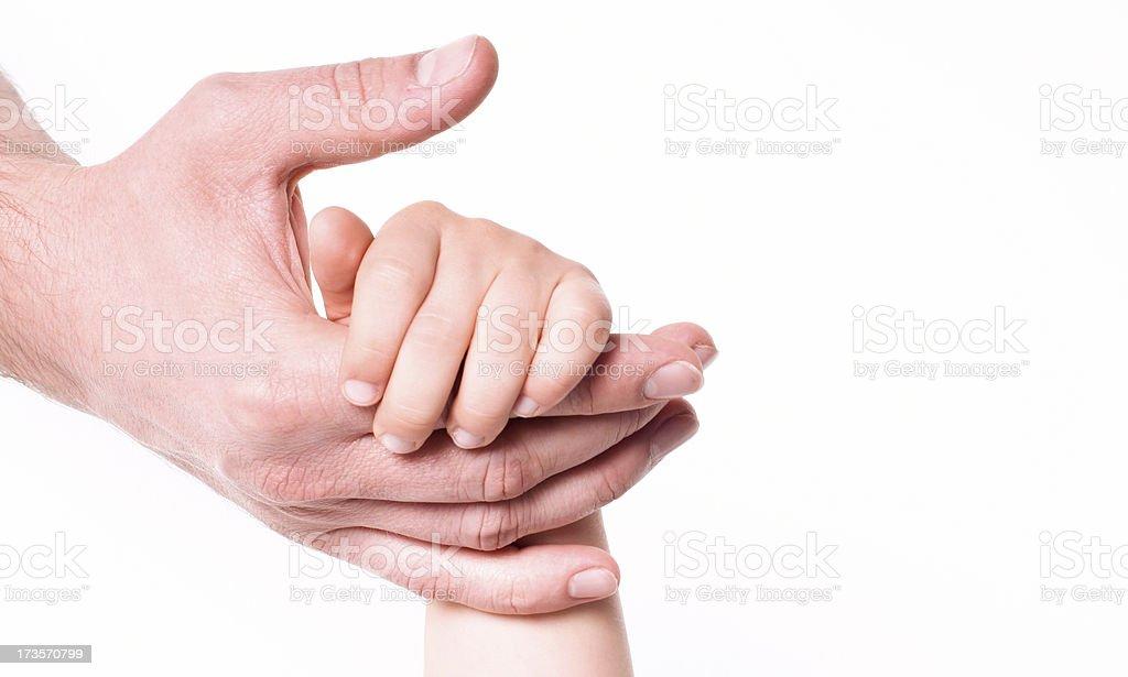 Child help royalty-free stock photo