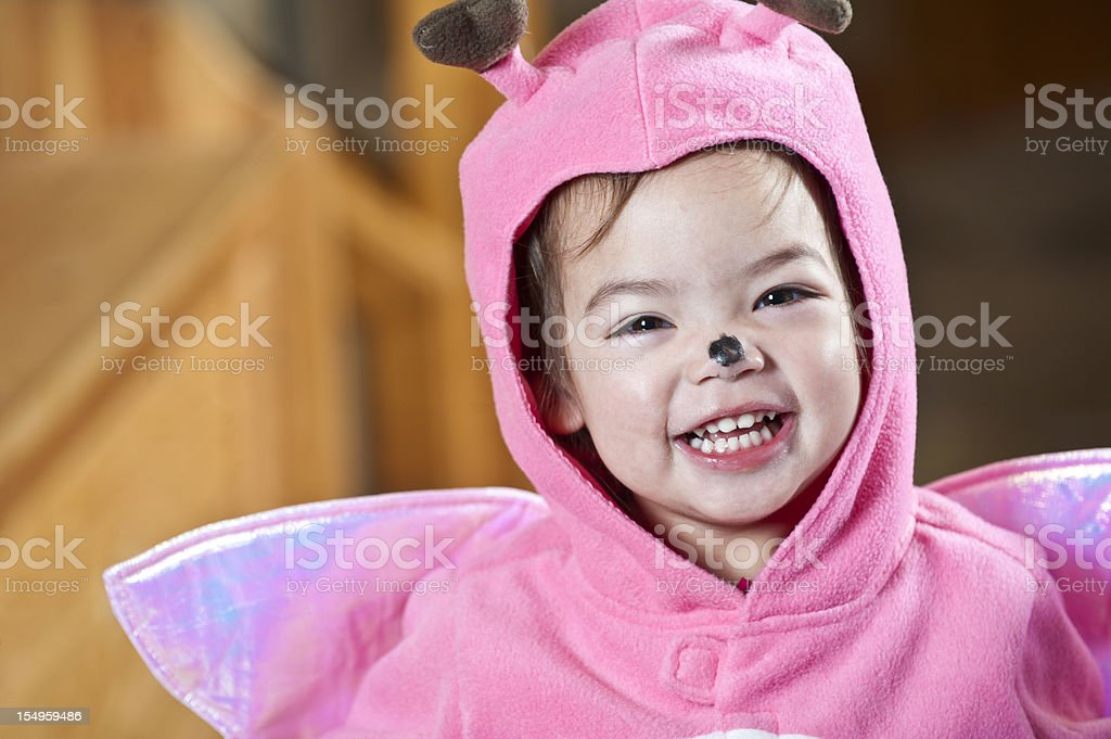 Child In Halloween Costume royalty-free stock photo