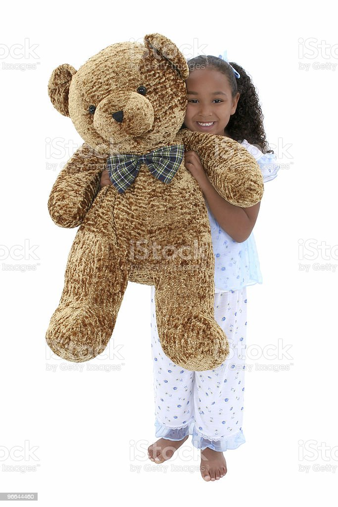 Child in Pajamas royalty-free stock photo