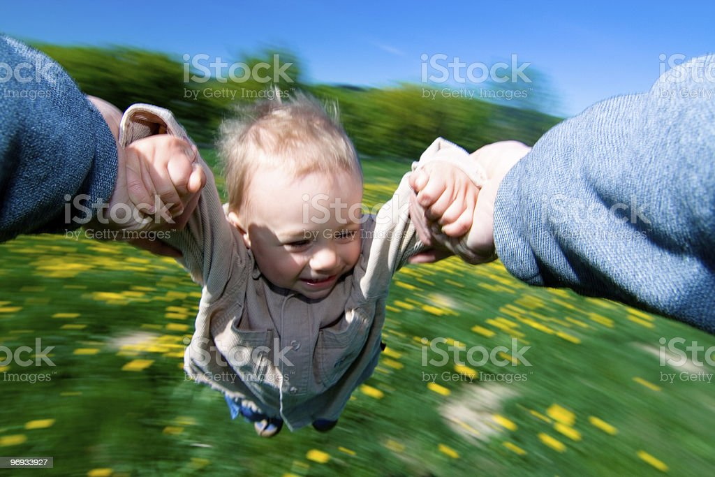 Child in Summer royalty-free stock photo