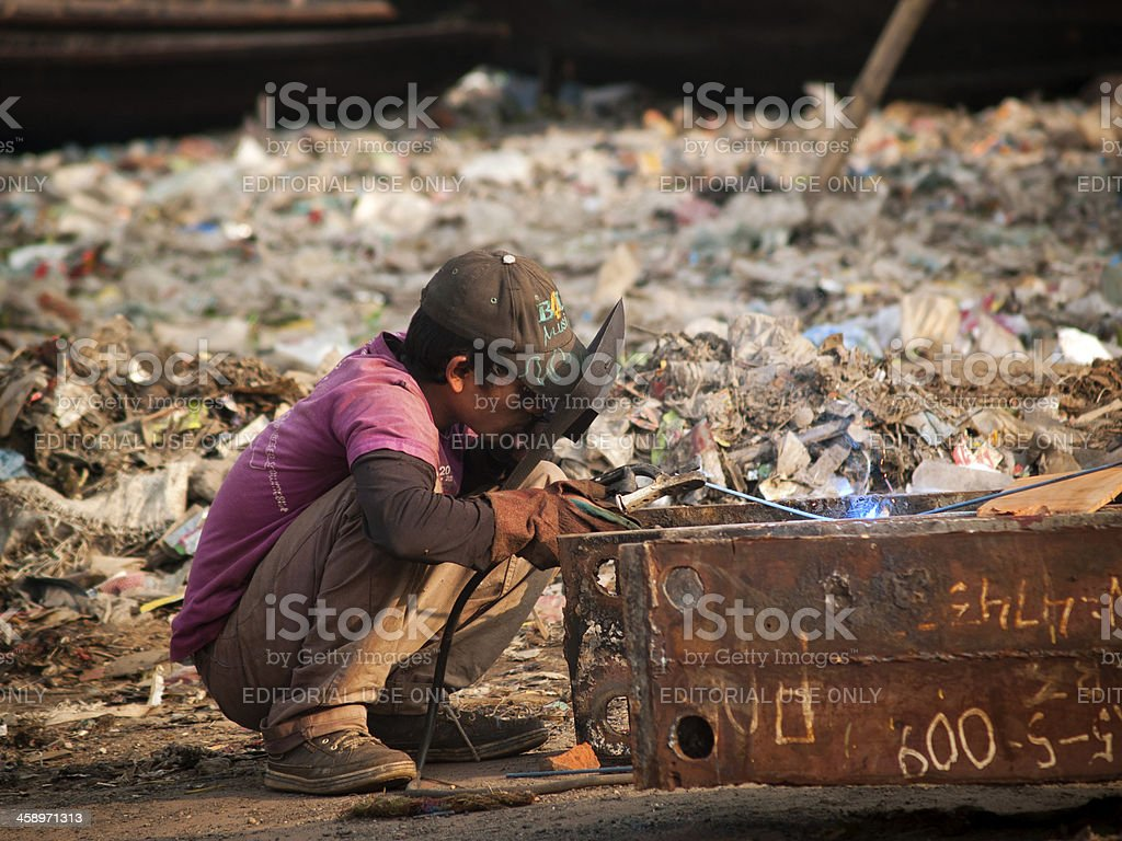 Child labour remains social norm in Bangladesh stock photo