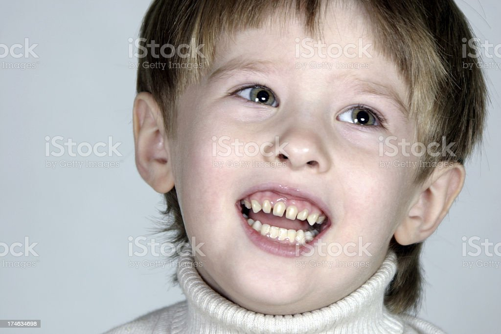 Child laugh stock photo
