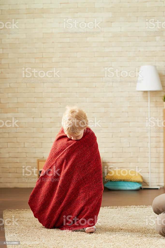 Child like hermit stock photo