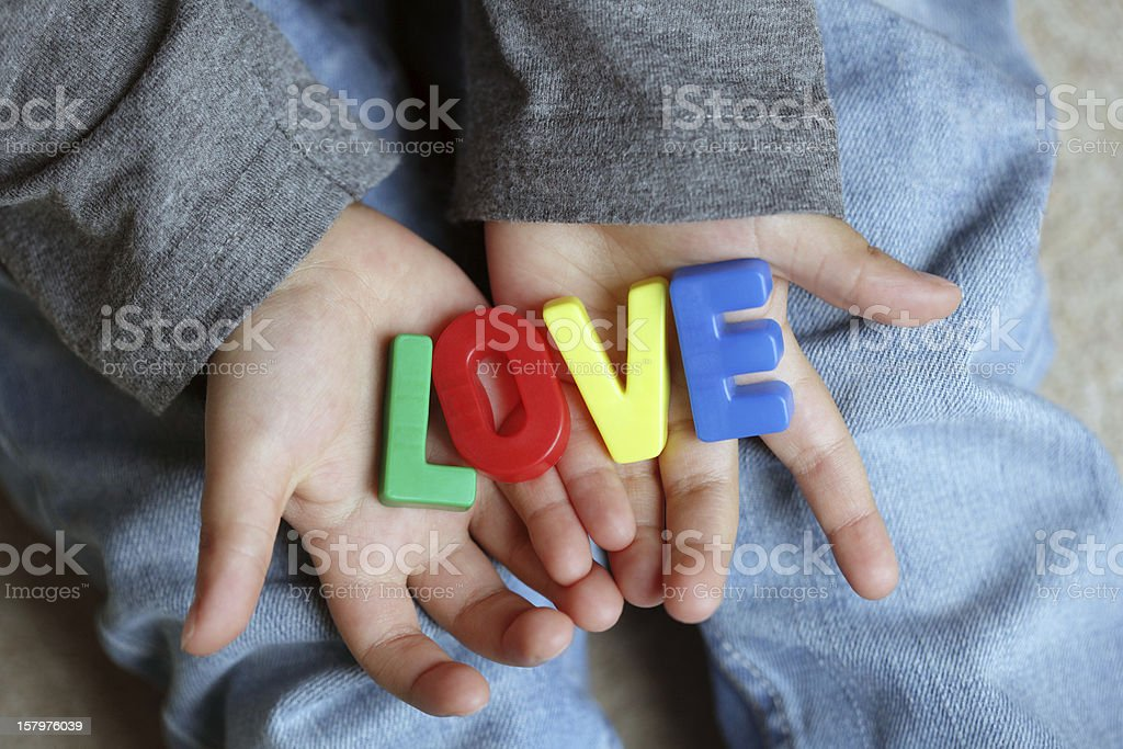Child love royalty-free stock photo