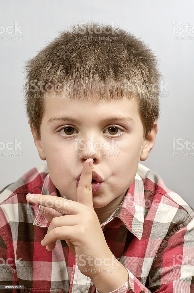 child making ugly faces 17 royalty-free stock photo