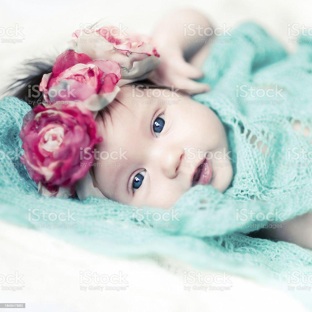 Child Milana royalty-free stock photo