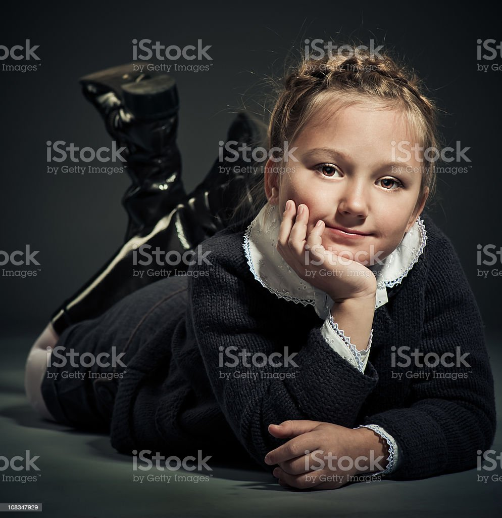 Child model royalty-free stock photo