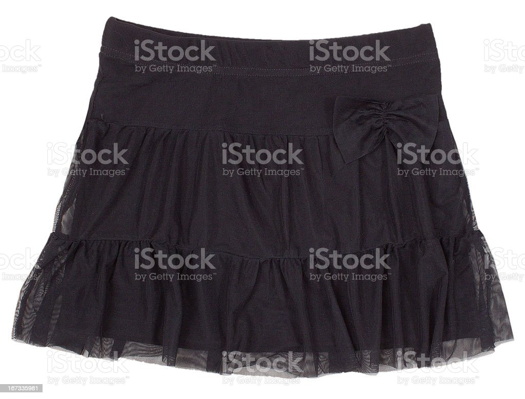 Child or woman's skirt. royalty-free stock photo