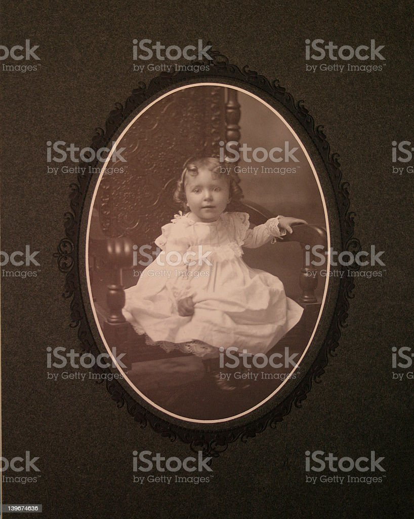 child oval royalty-free stock photo