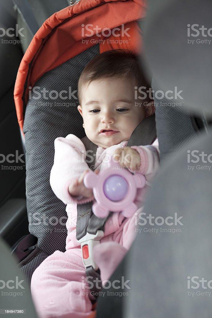 Child Passenger Safety. royalty-free stock photo