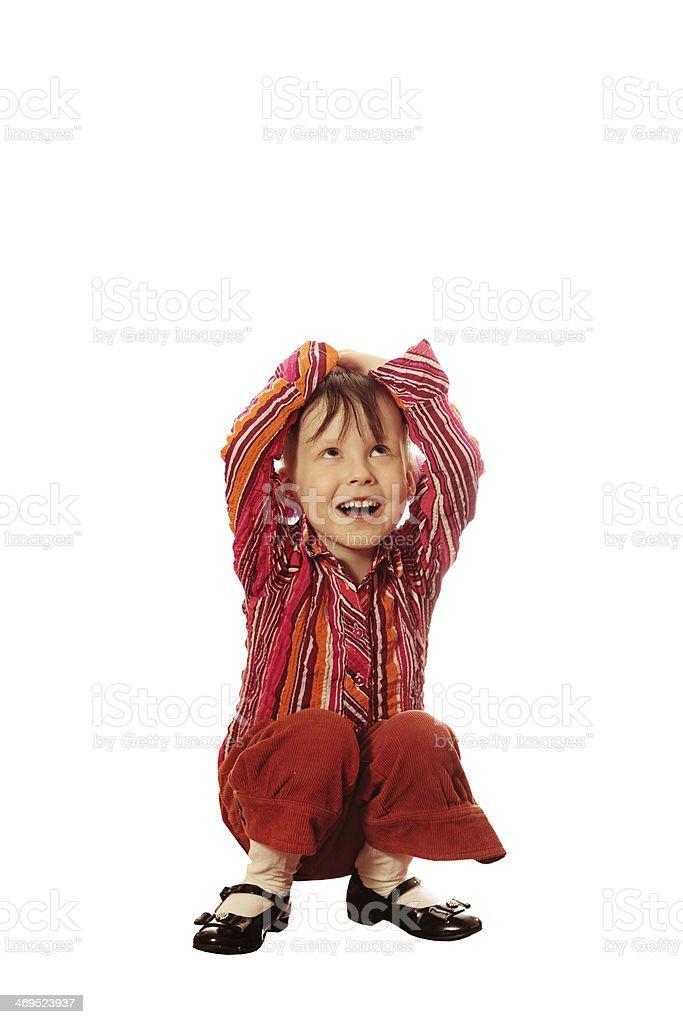 Child. royalty-free stock photo