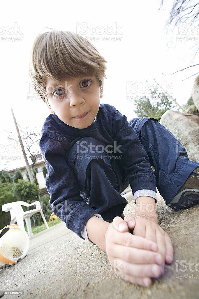 Child Play royalty-free stock photo