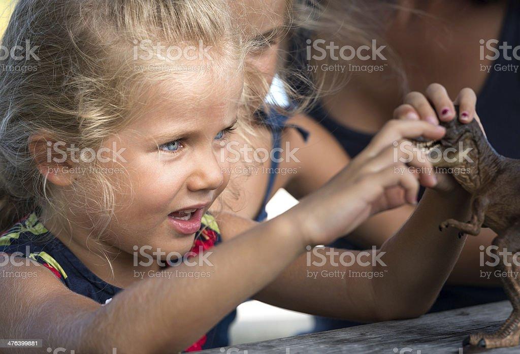 Child playing royalty-free stock photo