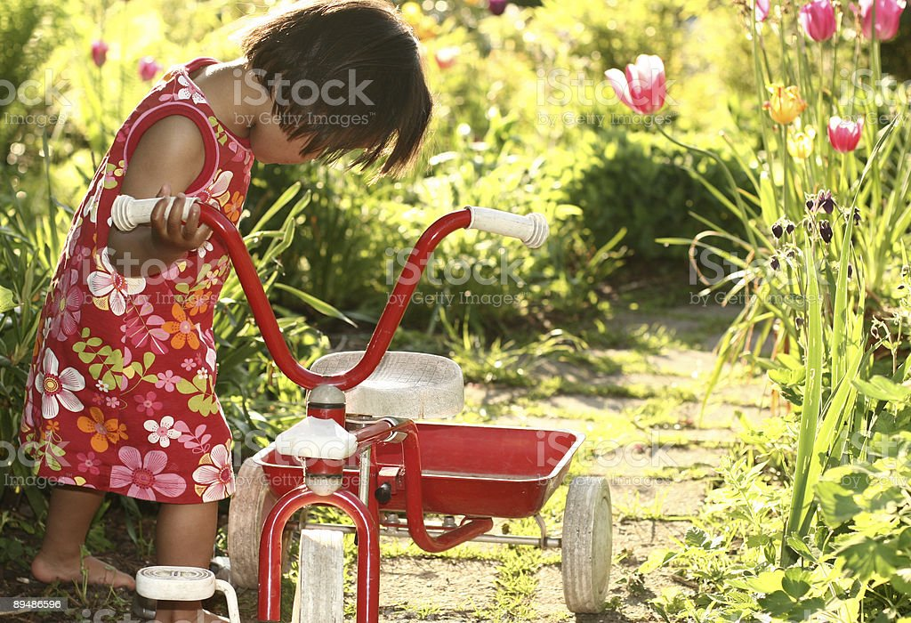child playing royalty-free stock photo