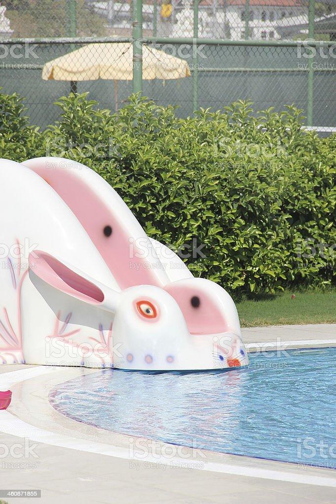 Child Pool stock photo