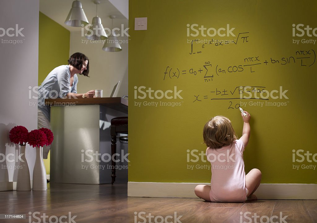child prodigy stock photo