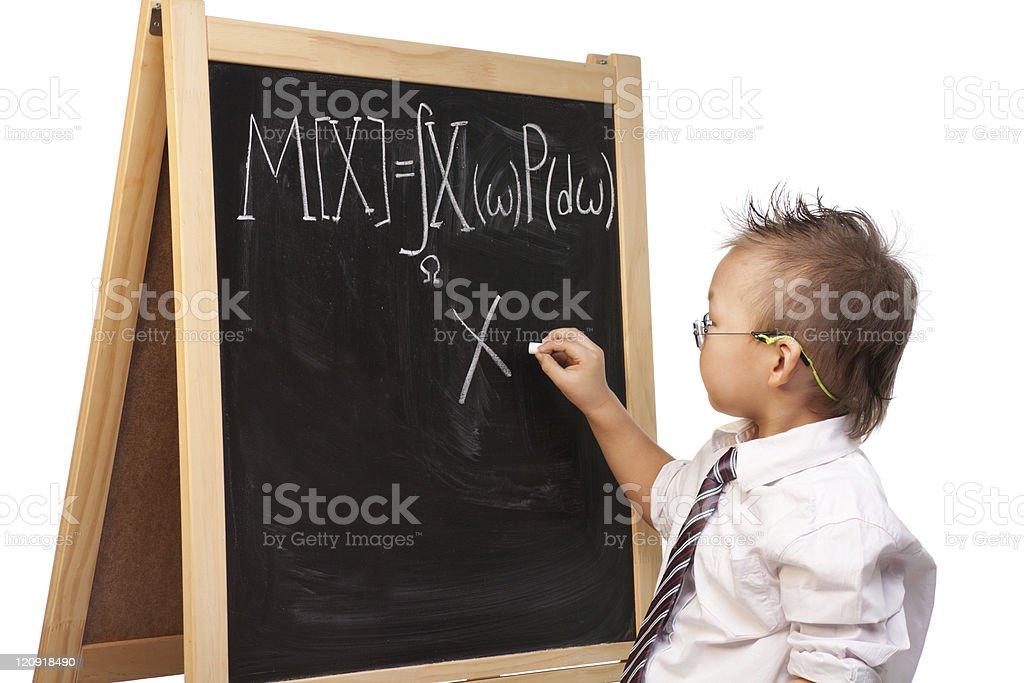 child prodigy royalty-free stock photo