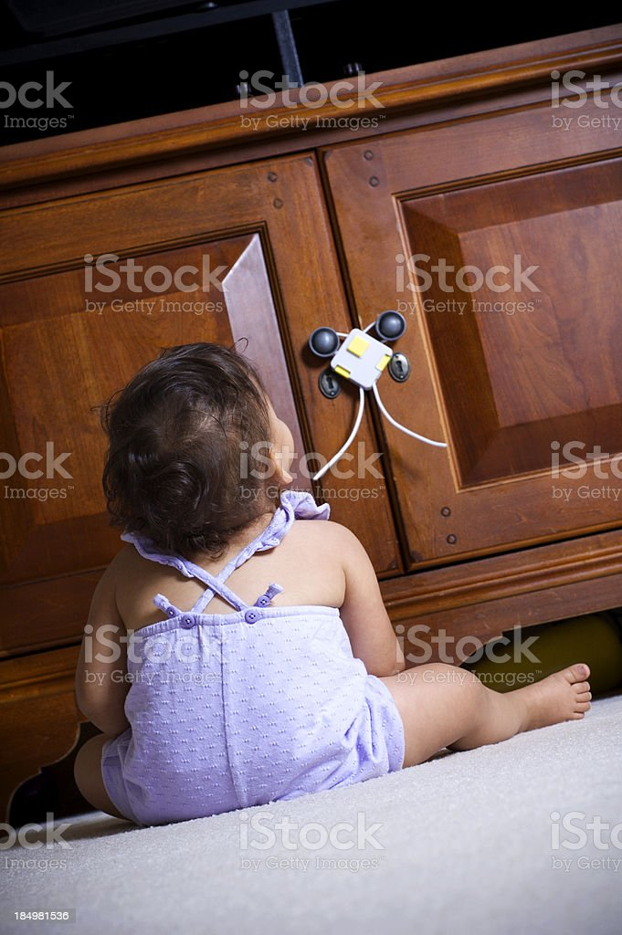 child proffing royalty-free stock photo