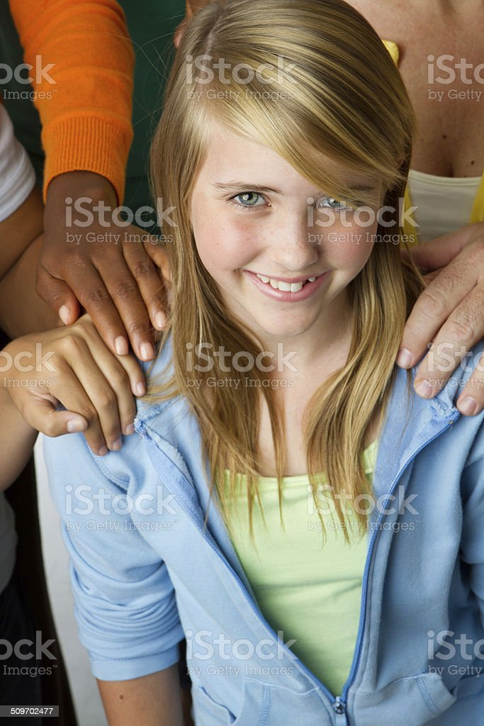 Child Protection stock photo