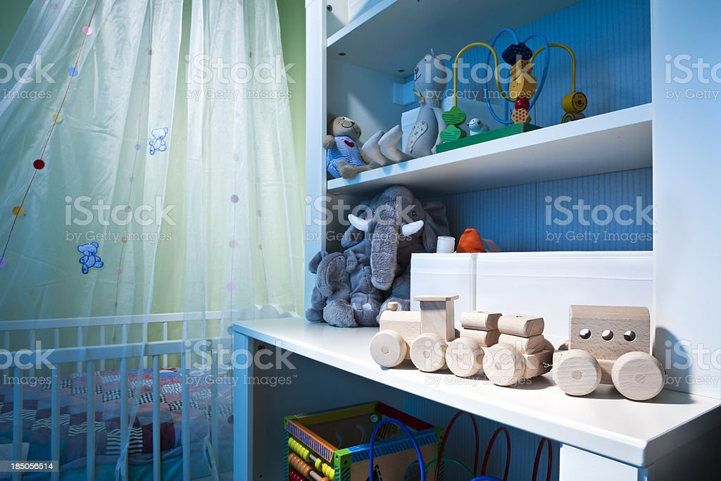 Child room stock photo