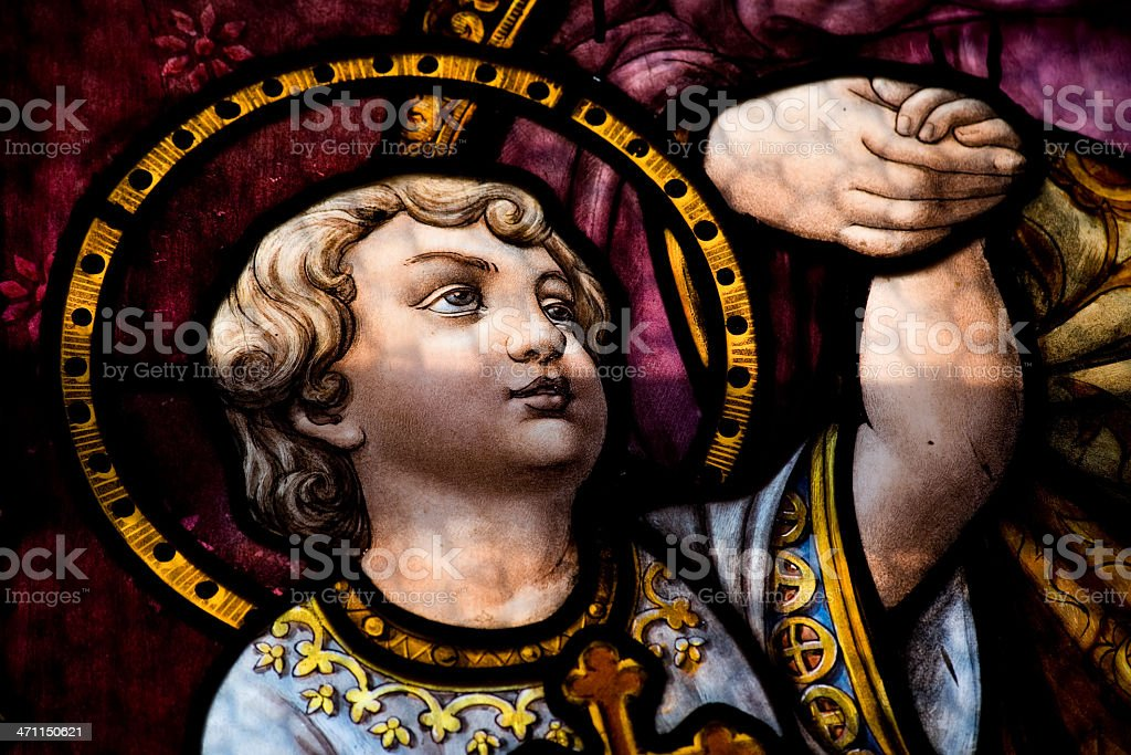 Child Saint royalty-free stock photo