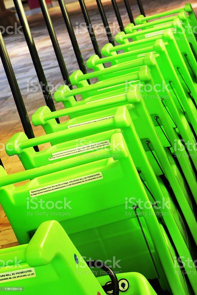 Child Shopping Cart Retail Mall royalty-free stock photo
