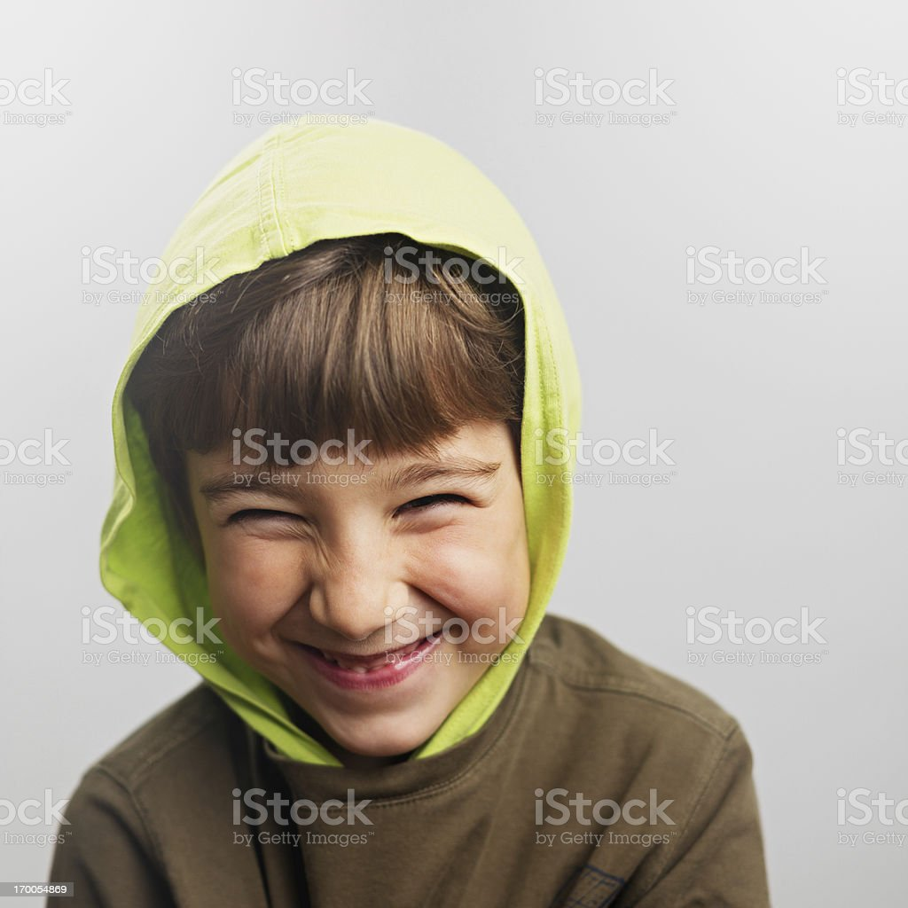 Child smiling royalty-free stock photo
