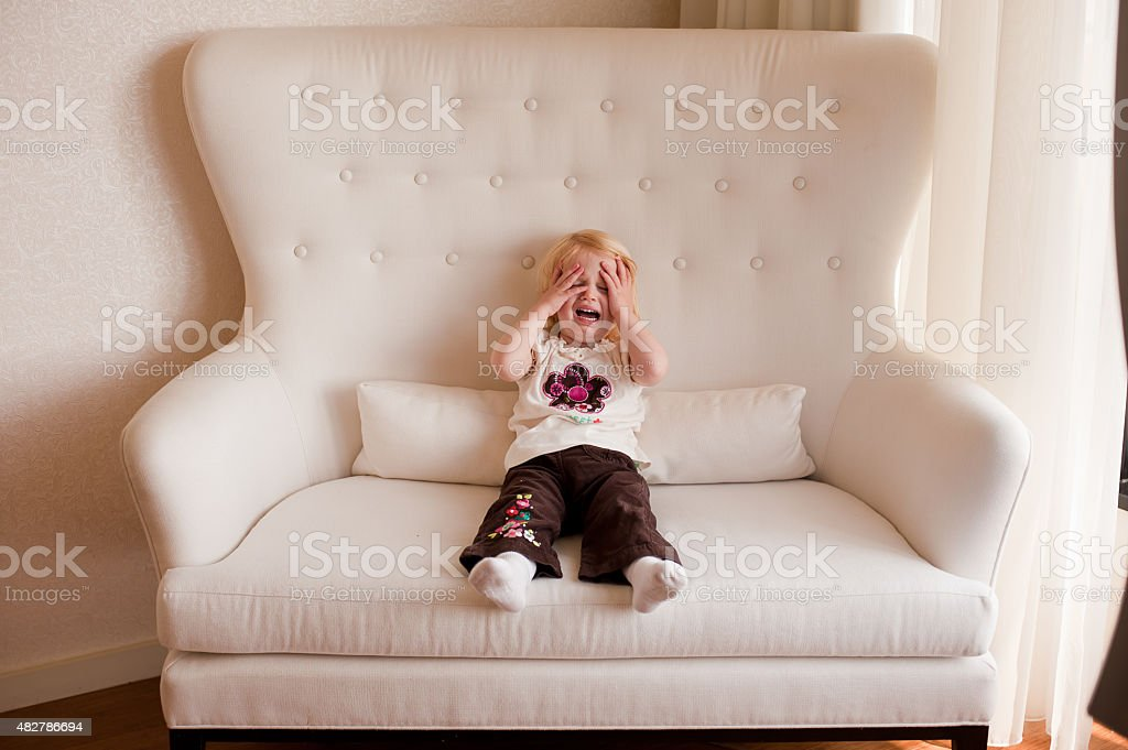 Child Tantrum stock photo