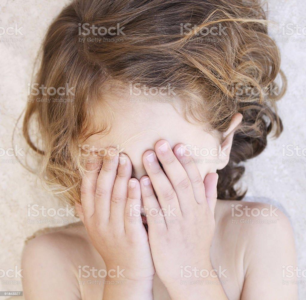 child tantruming royalty-free stock photo