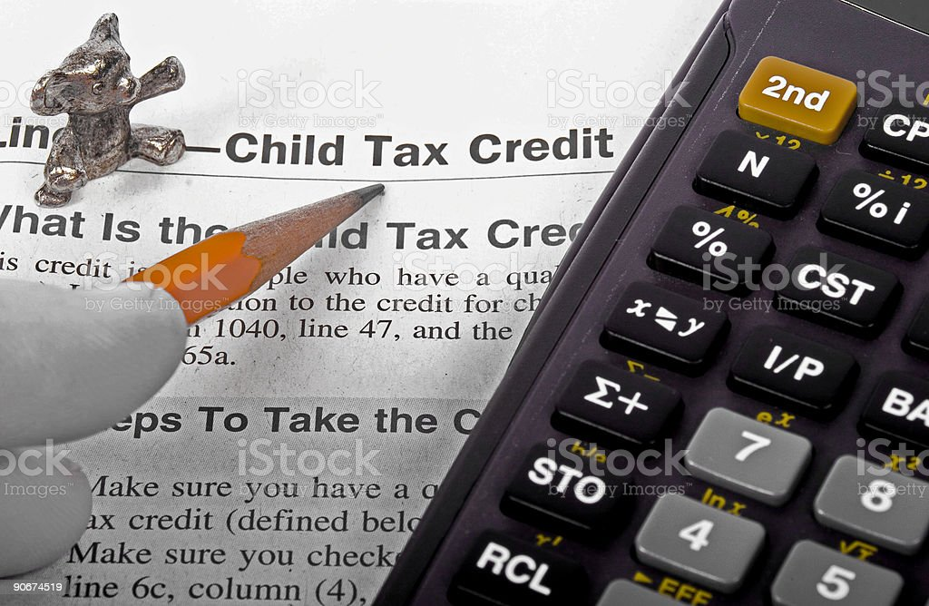 Child Tax Credit royalty-free stock photo