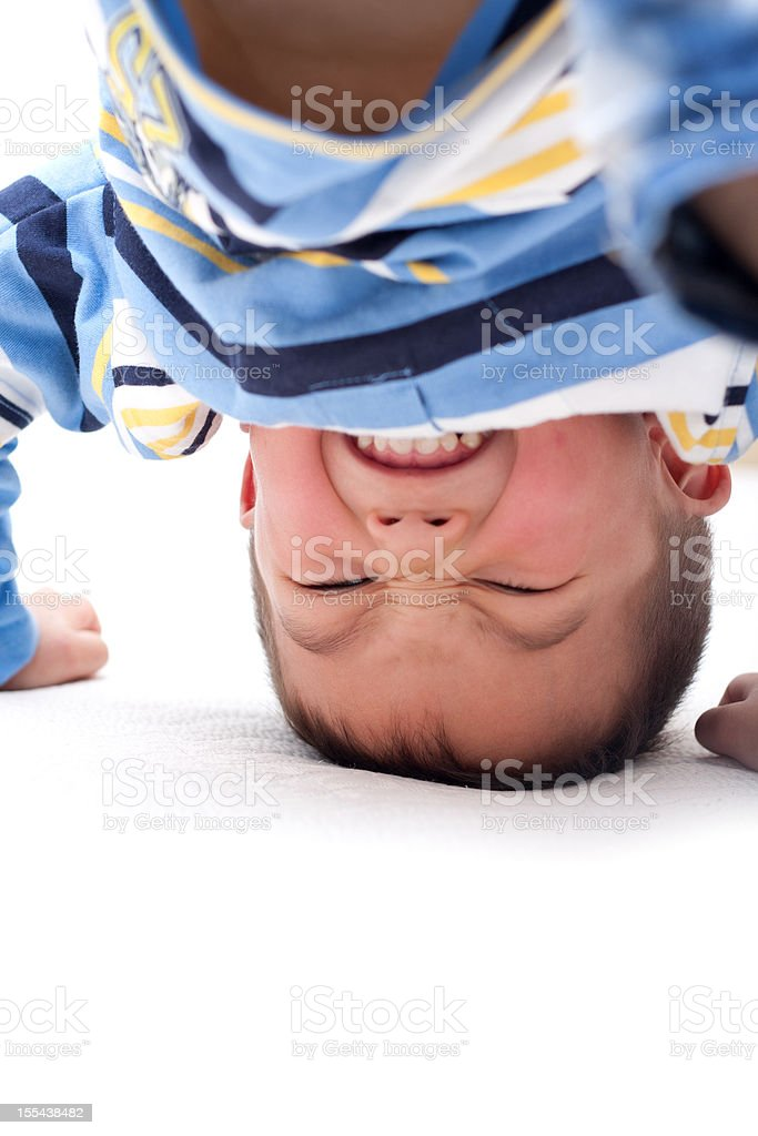 Child Tumbling royalty-free stock photo