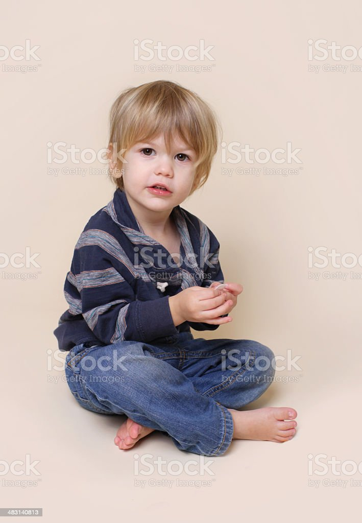 Child with Crafts and Arts stock photo