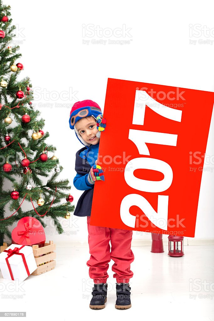 Child with empty blank stock photo