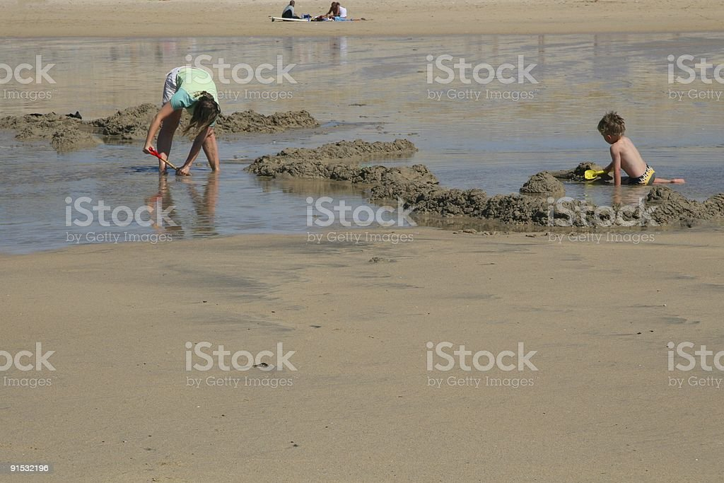 Childhood Construction royalty-free stock photo